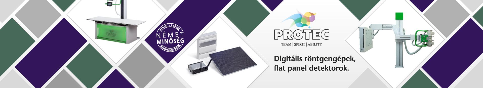DPK Digitális röntgengépek flat panel detektorok